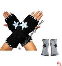 Woolen star design hand warmer