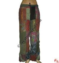 Jayapuri patch-work trouser