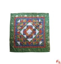 Patch-work square table cloth