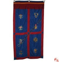 Tashi Targey design door curtain