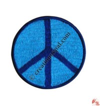 Medium size peace sign badge