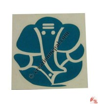 Small Ganesh sticker (packet of 10)