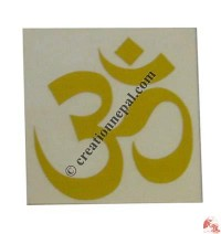 Small OM mantra sticker (packet of 10)