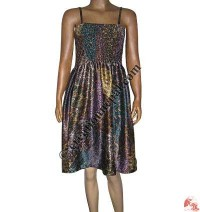Silk satin dress 2