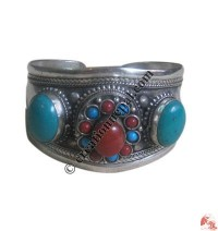 Multi-stone bangle1