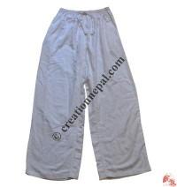 White color cotton trouser