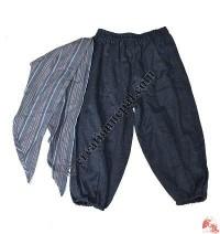 Cotton kids trouser