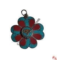 Buddha-Eye flower pendent