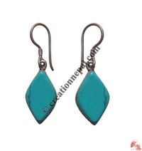 Turquoise ear ring1