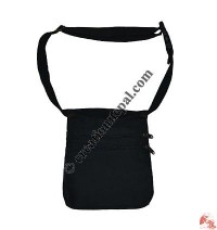 Cotton 2 zippered belt bag