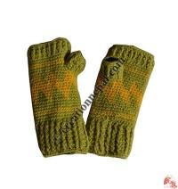 Woolen tube gloves5