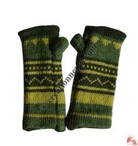 Woolen tube gloves7