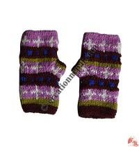 Woolen tube gloves8
