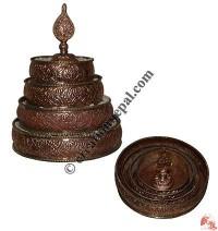 Copper Ratna Mandala