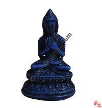 Buddha mini statue-Blue