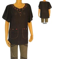 Open sleeves cotton Kurtha top1