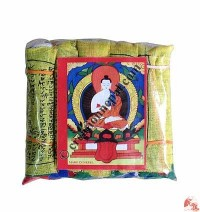 Cotton prayer flag10 (rolls of 5)