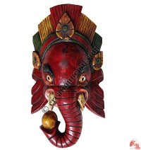 Medium size antique Ganesh mask