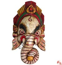 Small size antique Ganesh mask