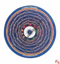 Cosmos Mandala print mouse pad