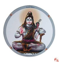Lord Shiva mouse pad