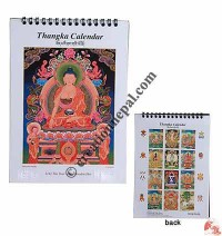 Small  Thangka table calendar 2019
