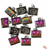 Plastic Shiva locket (packet of 12)