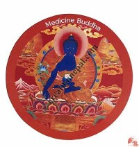 Medicine Buddha fridge magnet