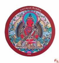 Amitayus Buddha fridge magnet
