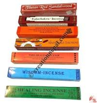 6 inch natural incense (box of 80)