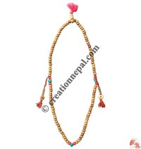 Decorated ivory beads Japa mala1