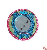 Mithila arts XS round mirror