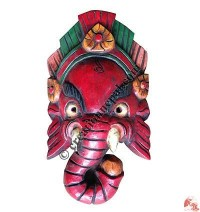 Small antique Ganesh mask