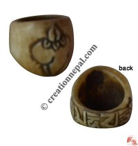 Bone finger ring21