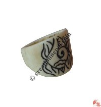 Bone finger ring25