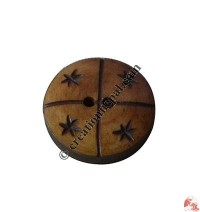 Carved bone button10 (packet of 10)