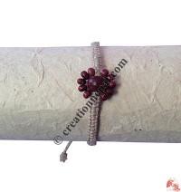 Wooden beads hemp hand band