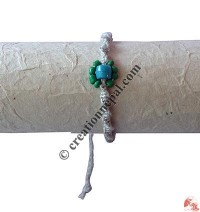 Center beads hemp hand band2