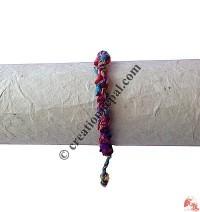 Cotton-silk braided hand band
