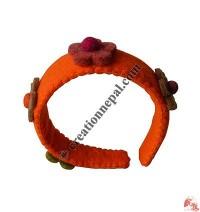 Felt flower head band