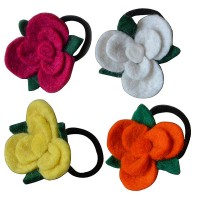 3-layer small flower hairband