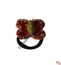 Beads deco butterfly hairband