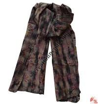 Felted sari scarf1