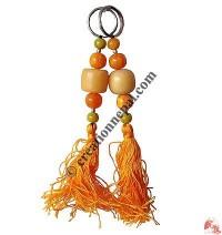 Amber beads key-ring1