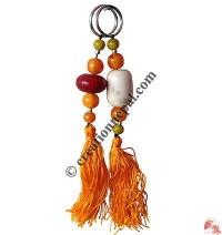 Amber beads key-ring3