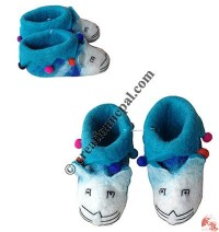 Balls decorated baby boot