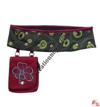 Blazer pocket cotton belt