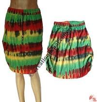 Sinkar tie-dye skirt