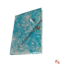 Turquoise foamy cover notebook