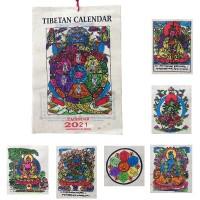 Hand painted calendar1
